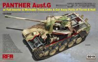 Танк Panther Ausf.G (Full Interior)