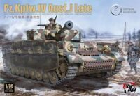 Танк PANZER IV J LAST WORKABLE TRUCKS
